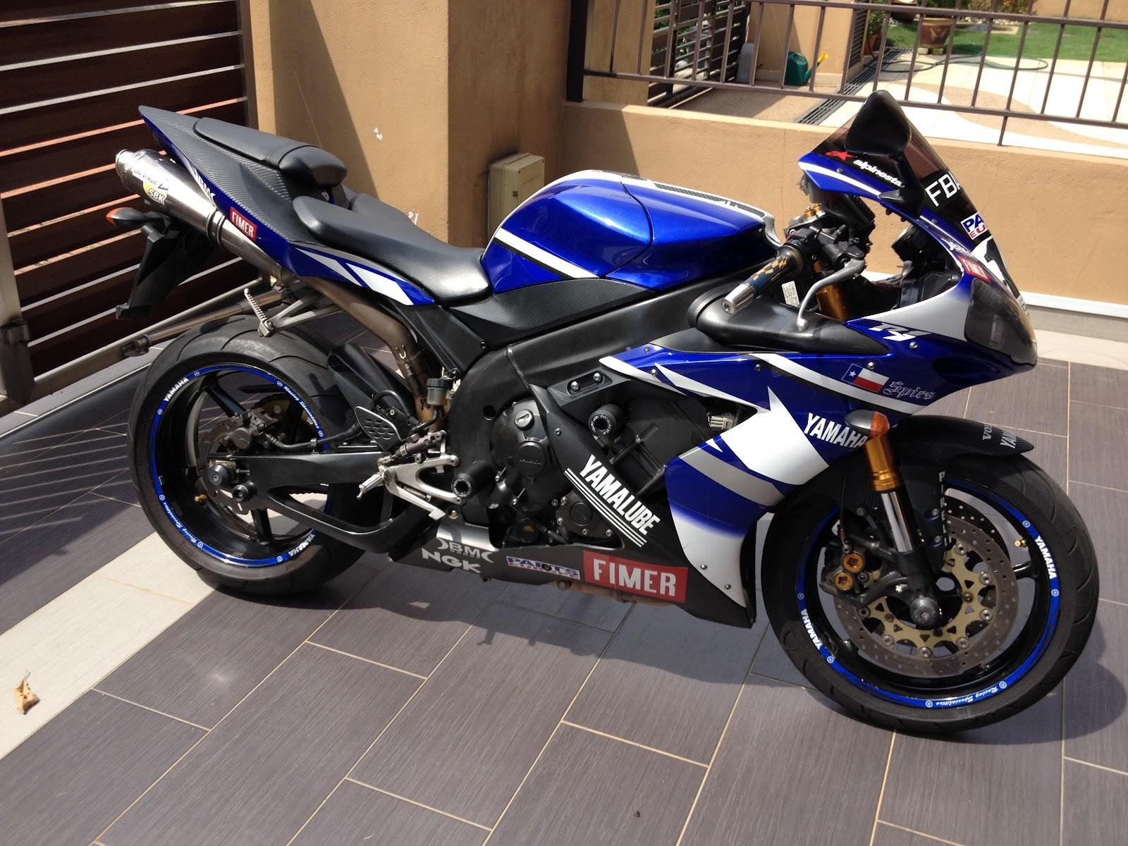 Yamaha R High Mileage